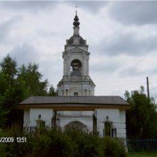 2009 Ворота в ограде церкви Тихвинской иконы