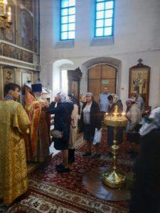 29.09.2019 Попразднство Воздвижения Креста