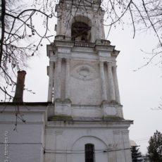 январь 2008 Колокольня церкви Тихвинской Богоматери