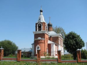 Казанский Храм в с. Четряково