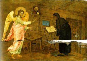 монах и ангел