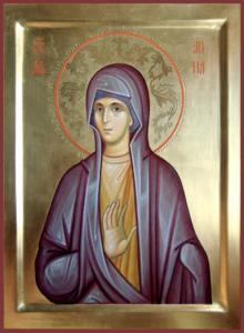 Праведная Анна Пророчица, дочь Фануилова.