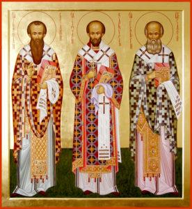 Собор вселенских учителей и святителей Васи́лия Великого, Григо́рия Богослова и Иоа́нна Златоустого
