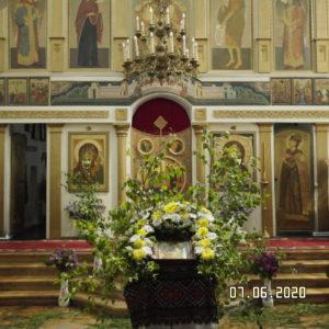 Богослужение на Троицу