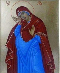 Непраздная, или Чревоношение Божественного Младенца.