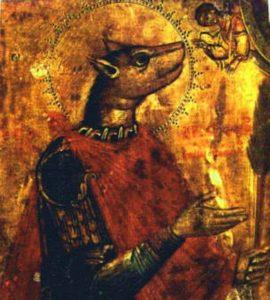 Святой мученик Христофор Псеглавец