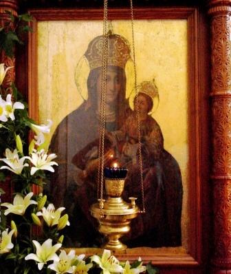 Тихвинской иконы Божией матери н